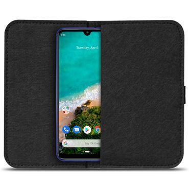 Filz Tasche Xiaomi Mi A3 Handy Hülle Schutz Cover Case Schutzhülle Handyhülle – Bild 3