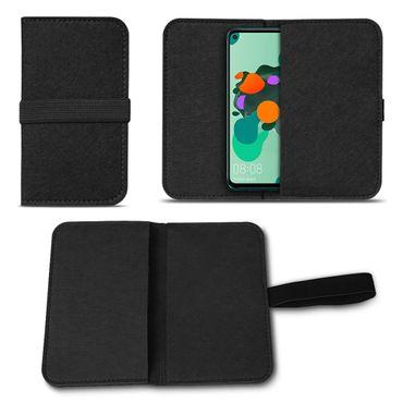Filz Tasche für Huawei Mate 30 Lite Handy Hülle Schutz Cover Case Schutzhülle – Bild 2