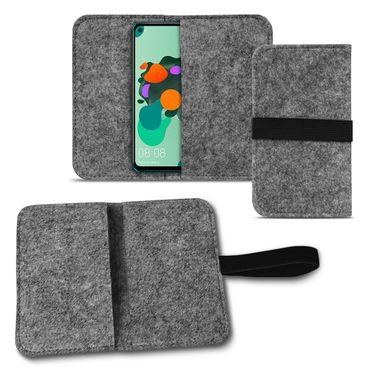 Handy Tasche Huawei Mate 30 Lite Schutzhülle Filz Hülle Cover Case Handyhülle – Bild 8