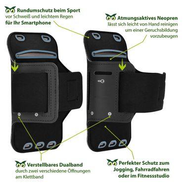 Handy Hülle OnePlus 7 Pro Fitness Case Jogging Tasche Schutzhülle Sport Cover – Bild 4