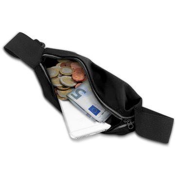 Handy Tasche für Wiko View 3 Pro Hülle Schwarz Schutzhülle Jogging Fitness Case – Bild 5