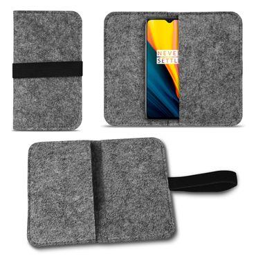 Filz Tasche für OnePlus 7 Handy Hülle Schutz Cover Case Schutzhülle Handyhülle – Bild 8