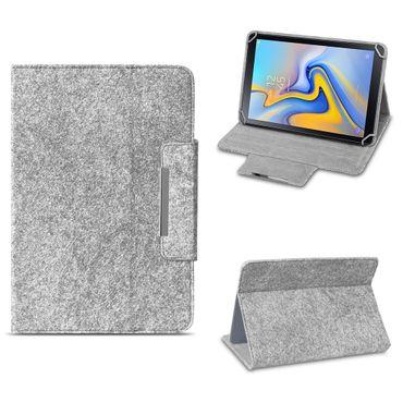 Filz Hülle für Samsung Galaxy Tab S6 Tablet Tasche Schutzhülle Case Schutz Cover – Bild 2