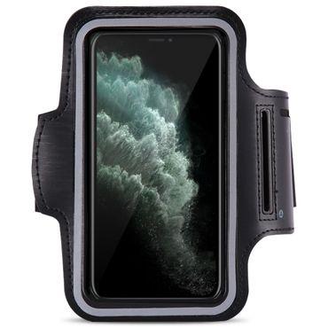 Schutzhülle Apple iPhone 11 Pro Handy Hülle Tasche Jogging Armband Case Schwarz  – Bild 2