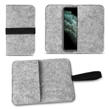 Filz Tasche Apple iPhone 11 Pro Handy Hülle Schutz Cover Case Schutzhülle Etui – Bild 14
