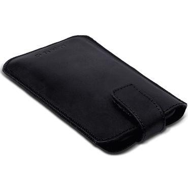 Leder Hülle Apple iPhone 11 Pro Max Schutzhülle Schwarz Pull Tab Handy Tasche – Bild 7
