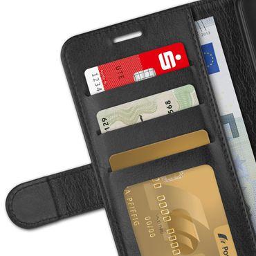 Handy Hülle für Apple iPhone 11 Schutzhülle Tasche Schutz Case Cover Schwarz  – Bild 7