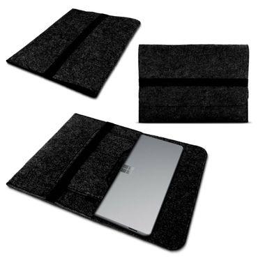 Notebook Hülle für Microsoft Surface Laptop 3 13.5 Schutzhülle Tasche Filz Cover – Bild 8