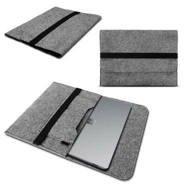 Notebook Hülle für Microsoft Surface Laptop 3 13.5 Schutzhülle Tasche Filz Cover – Bild 2