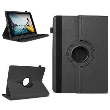 Schutzhülle Medion Lifetab X10609 Tasche Schwarz Hülle Tablet Case 360° Drehbar – Bild 1