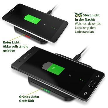 QI Wireless Charger Schnell Ladegerät Huawei Mate 30 Pro Kabellos Ladestation – Bild 6