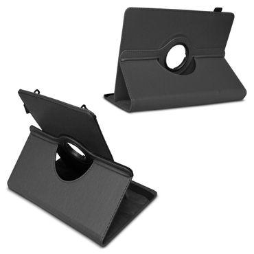 Schutzhülle Medion Lifetab E10702 Tasche Schwarz Hülle Tablet Case 360° Drehbar – Bild 5