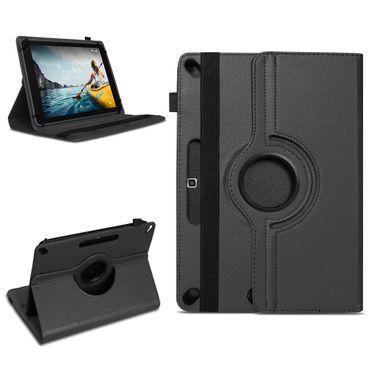 Tasche Medion Lifetab E10702 Hülle Schwarz Schutzhülle Tablet Case 360° Drehbar – Bild 1