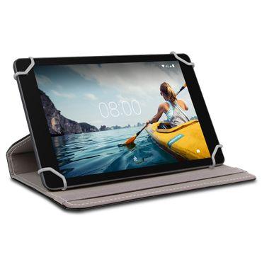 Tablet Schutzhülle Medion Lifetab E10702 Tasche Hülle Schwarz Case 360° Drehbar – Bild 2