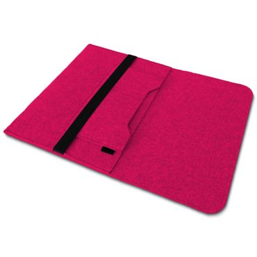 Sleeve Hülle Für Apple Macbook Air Tasche Laptop Cover  Filz 13,3 Zoll Pink Case – Bild 6