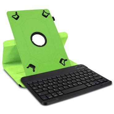 Tablet Hülle 10 10.1 Zoll Tasche Bluetooth Tastatur Schutzhülle QWERTZ Keyboard – Bild 2