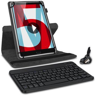 Schutzhülle Huawei MediaPad T5 10.1 Bluetooth Hülle Tastatur Tasche QWERTZ Case – Bild 3