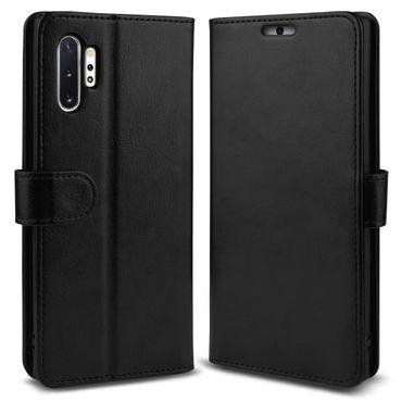 Schutzhülle Samsung Galaxy S10 A40 A50 Note 10 Plus S9 Hülle Tasche Schwarz Case – Bild 8