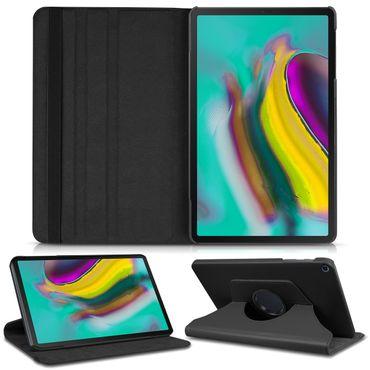 Schutzhülle für Samsung Galaxy Tab S5e 10.5 Tablet Tasche Hülle Case Schwarz  – Bild 1
