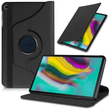 Tablet Hülle Schutzhülle Samsung Galaxy Tab Tasche Schutz Case Drehbar Schwarz – Bild 1