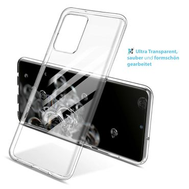 Schutzhülle Samsung Galaxy S20 Ultra Handy Hülle Tasche Ultra Slim Silikon Case – Bild 8