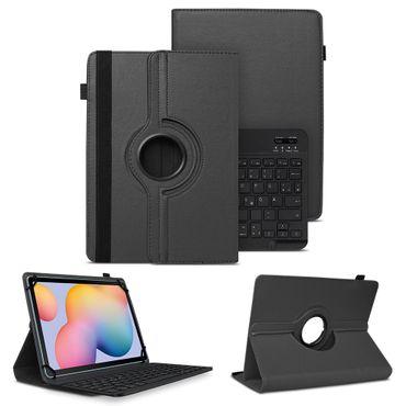 Schutzhülle Samsung Galaxy Tab S6 Lite Bluetooth Hülle Tastatur Tasche QWERTZ – Bild 1