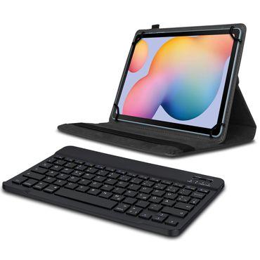 Keyboard Tasche für Samsung Galaxy Tab S6 Lite Bluetooth Hülle Tastatur QWERTZ  – Bild 2