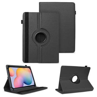 Tablet Hülle Samsung Galaxy Tab S6 Lite Schutzhülle Cover 360° Drehbar Schwarz