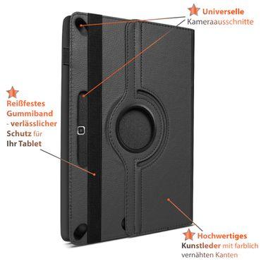 Tasche Samsung Galaxy Tab S6 Lite Bluetooth Hülle Tastatur Schutzhülle QWERTZ – Bild 9