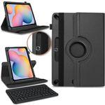 Tasche Samsung Galaxy Tab S6 Lite Bluetooth Hülle Tastatur Schutzhülle QWERTZ 001