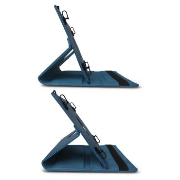 Tablet Hülle Medion Lifetab P Serie 10 10.1 Zoll Tasche Schutzhülle Blau Drehbar – Bild 7