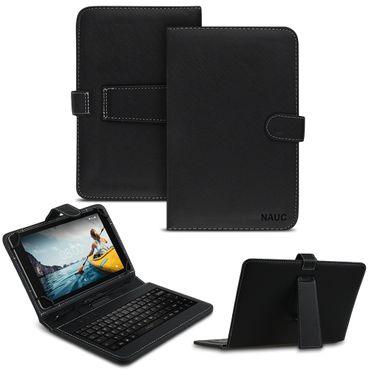 Tastatur Tasche Medion Lifetab P10710 Keyboard USB Hülle QWERTZ Schutzhülle Case – Bild 1
