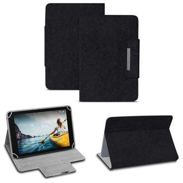 Tablet Tasche Medion Lifetab P10710 Filz Hülle Schutzhülle Schutz Cover Ständer – Bild 16