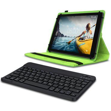 Schutzhülle Medion Lifetab P10710 Bluetooth Hülle Tablet Tasche QWERTZ Tastatur – Bild 15