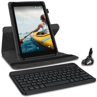 Schutzhülle Medion Lifetab P10710 Bluetooth Hülle Tablet Tasche QWERTZ Tastatur – Bild 4