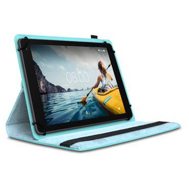 Tablet Hülle Medion Lifetab P Serie 10 10.1 Zoll Tasche Schutzhülle Türkis Case – Bild 2