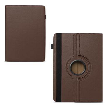 Tablet Hülle Medion Lifetab P Serie 10 10.1 Zoll Tasche Schutzhülle Braun Case – Bild 10