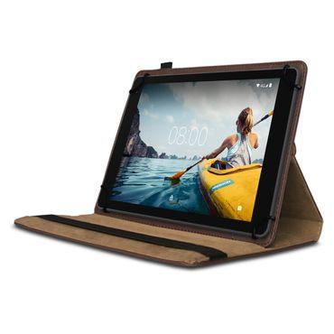 Tablet Hülle Medion Lifetab P Serie 10 10.1 Zoll Tasche Schutzhülle Braun Case – Bild 3