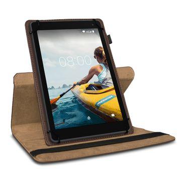 Tablet Hülle Medion Lifetab P Serie 10 10.1 Zoll Tasche Schutzhülle Braun Case – Bild 4
