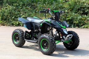 Kinderquad Pocketquad 50ccm inkl. E-Starter u. Fernbedienung  HIGHPER 50 - BLACK EDITION