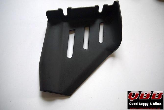 Spritzschutz hinten für Trittbretter für 49cc Kinderquad - Modell Pyton 49cc u. Elektro