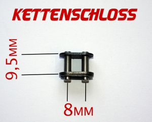 Kettenschloss für Antriebskette 50ccm 2 Takt Motor für Kinderquad / Pocketbike / Dirtbike Ketten