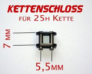Kettenschloss für Antriebskette 25H Kette- passend für z.B. 800W elektrische Kinderquads
