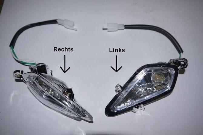 Lampe + 12 V Glühbirne - Scheinwerfer komplett für Kinderquad Speedy Hawk 125ccm