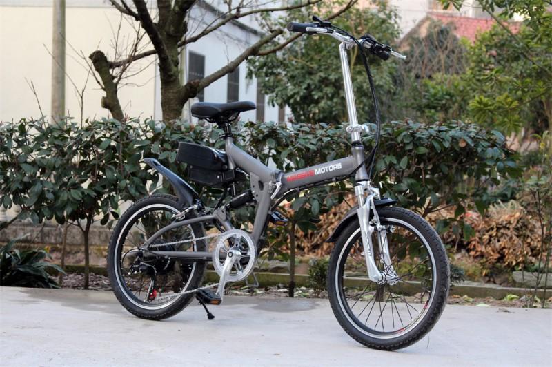 Klapprad E-Bike Faltrad - Pedelec - 250 Watt Motor - 20 Zoll Fahrrad - 6 Gang -  – Bild 2