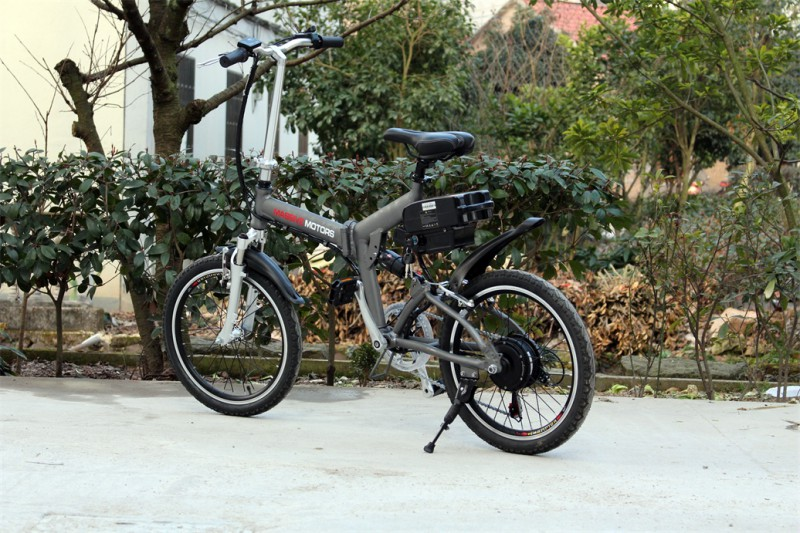 Klapprad E-Bike Faltrad - Pedelec - 250 Watt Motor - 20 Zoll Fahrrad - 6 Gang -  – Bild 6