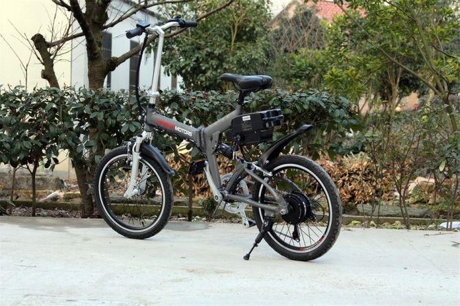 Klapprad E-Bike Faltrad - Pedelec - 250 Watt Motor - 20 Zoll Fahrrad - 6 Gang -