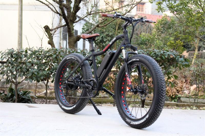 Fatbike / Ebike Mountainbike elektrisch 250 Watt Power Motor - Kenda Tires - 11 AH Battery  – Bild 6