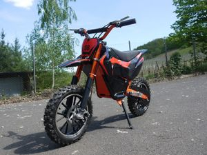 Elektrisches Motorrad mit 3 Stufen Drossel - 500 Watt - 24 Volt - LIA 500W 001