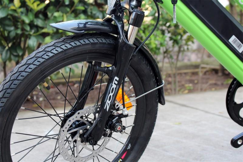 Solides - einstellbares Federbein Ebike für Kinder Mountainbike 20 Zoll